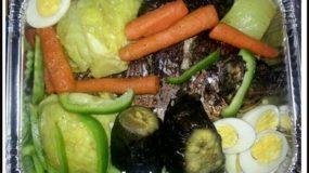 Riz aux légumes et aux poissons