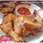 Recette de Poulet Frit à l'Africaine