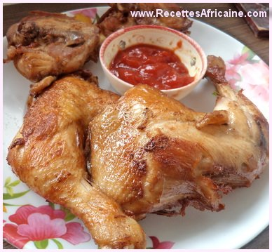 recette de poulet frit l 39 africaine recettes africaines. Black Bedroom Furniture Sets. Home Design Ideas