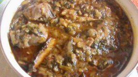 Sauce épinard aux gombos