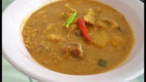 Soupe de Tubercules (manioc) – Kétoun