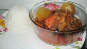 Soupe de Poisson Fumé (KonKoye)