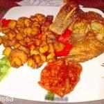 Tilapia grillé avec aloco