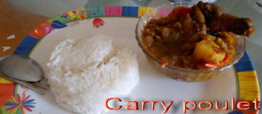 curry au poulet cari poulet recettes africaines. Black Bedroom Furniture Sets. Home Design Ideas