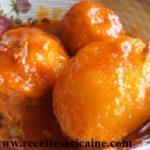 Ragoût de mangues (mangué Sauce )