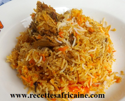 recette du riz biryani recettes africaines. Black Bedroom Furniture Sets. Home Design Ideas
