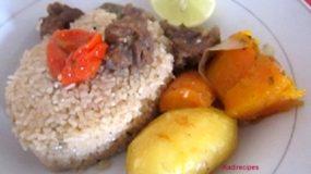 Riz Gras Blanc (riz Senegalais)