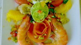Salade de Gambas