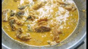 La Sauce de pistache (Soupe d'Egusi)