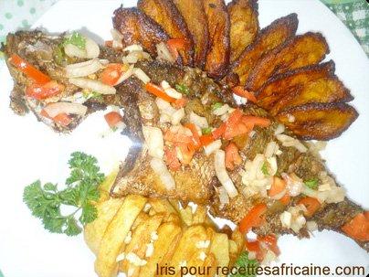 Poisson Carpe Frit Recettes Africaines