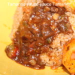 Sauce de tamarin pimentée pour Riz au gras
