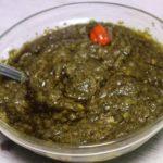 Sauce feuilles de manioc