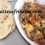 Tajine de Kefta (Tajine de viande Hachée), pain shawarma